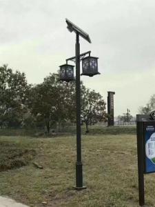 宝鸡眉县太阳能庭院灯