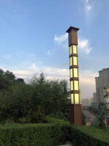 宝鸡代家湾公园景观灯