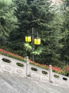 宝鸡双头庭院灯